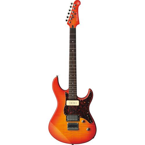 Yamaha  PAC611 Electric Guitar; Light Amber Burst