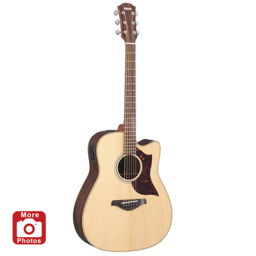 Yamaha A1R Acoustic-Electric Guitar with Hard-Shell Case