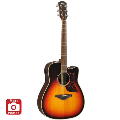 Yamaha A1RVS Acoustic-Electric Guitar; Vintage Sunburst;  with Hard-Shell Case