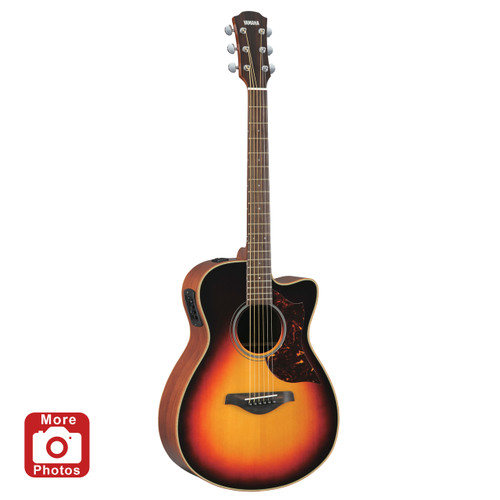 Yamaha AC1MVS Acoustic-Electric Guitar; Vintage Sunburst; with Hard-Shell Case