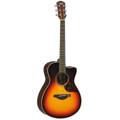 Yamaha AC3RVS Acoustic-Electric Guitar; Vintage Sunburst; with Hard-Shell Case