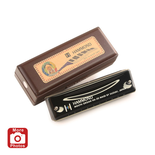 Suzuki Promaster Hammond Harmonica, Key of E