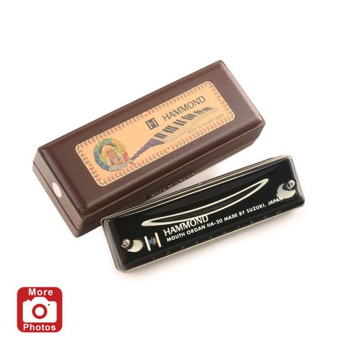 Suzuki Promaster Hammond Harmonica, Key of G