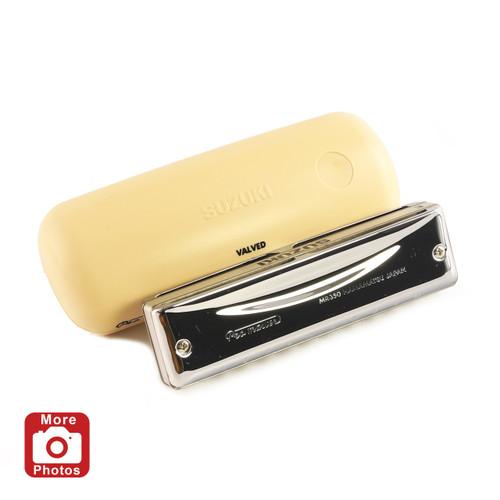 Suzuki Promaster Valved Harmonica, Key of High G