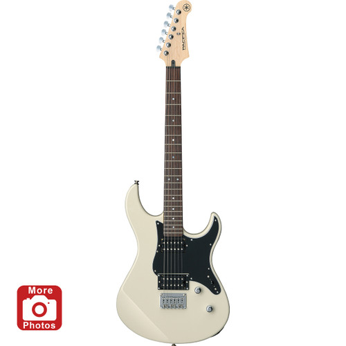 Yamaha PAC120HVW Electric Guitar; Vintage White