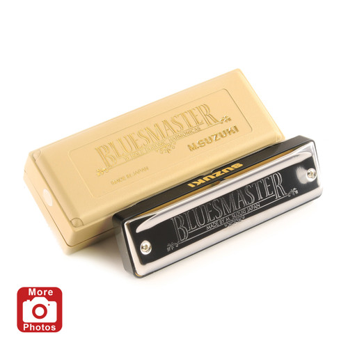 Suzuki Bluesmaster Harmonica, Key of Bb
