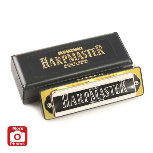 Suzuki Harpmaster Harmonica, Key of Bb
