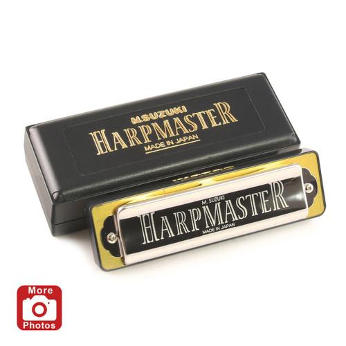 Suzuki Harpmaster Harmonica, Key of F