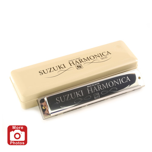 Suzuki 2Timer21 Harmonica, Key of A