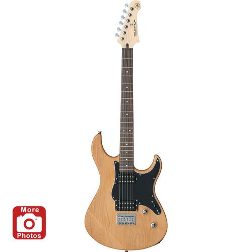 Yamaha PAC120HYNS Electric Guitar; Yellow Natural Satin