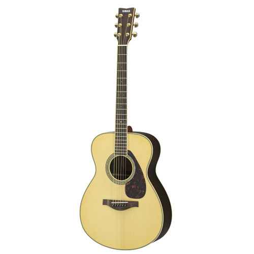 Yamaha LS6RHC Handcrafted Acoustic Guitar with Hard-Shell Case