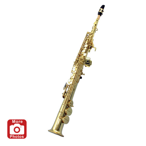 Legacy SS1000 Intermediate Soprano Saxophone w/Case Accessories and Mouthpiece