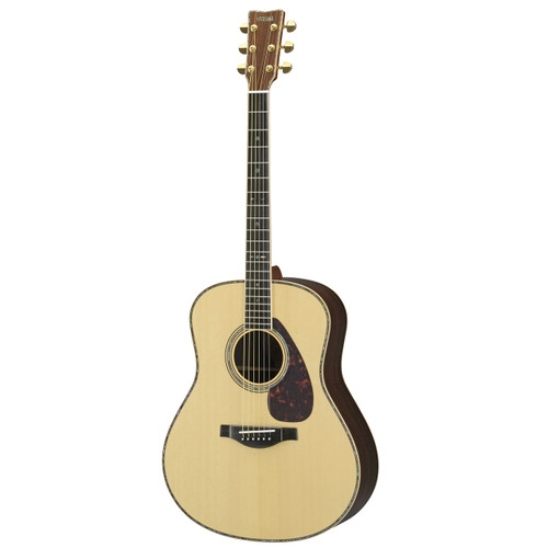 Yamaha LS6MHC Handcrafted Acoustic Guitar with Hard-Shell Case