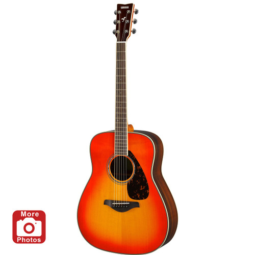 Yamaha FG830AB Acoustic Guitar; Autumn Burst