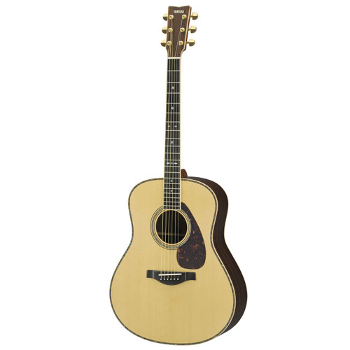 Yamaha LL36R Handcrafted Acoustic Guitar with Hard-Shell Case