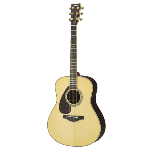Yamaha LL16RLHC Acoustic Guitar with Hard-Shell Case; Left-handed