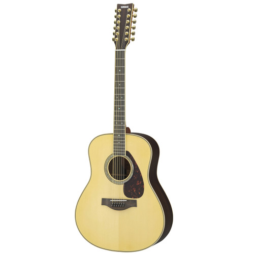 Yamaha LL16R-12HC Acoustic Guitar with Hard-Shell Case; 12-String
