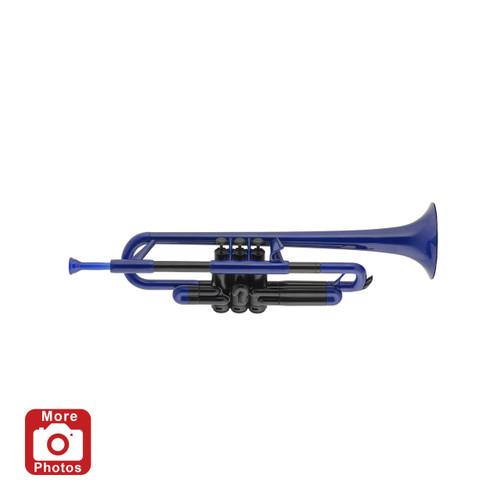 pTrumpet Plastic Trumpet Outfit, Blue