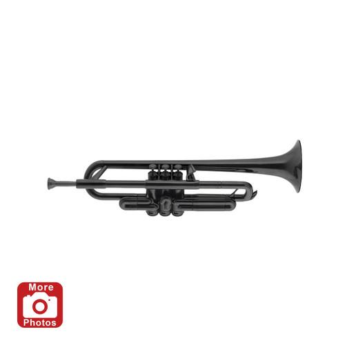 pTrumpet Plastic Trumpet Outfit, Black
