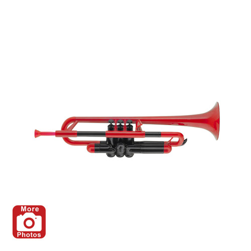 pTrumpet Plastic Trumpet Outfit, Red