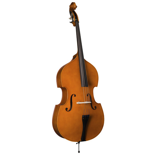 William Lewis & Son Student Model WLB49L3CBH Double Bass Exeter 3/4 Size
