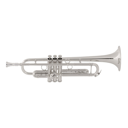 C.G. Conn Professional Model 1BSP Bb Trumpet, Silver Plated