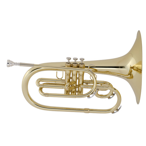 King Professional Model 1121 Marching Mellophone