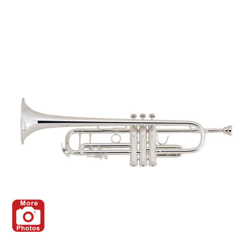 Bach Professional Model 180S37 Bb Trumpet, Silver Plated