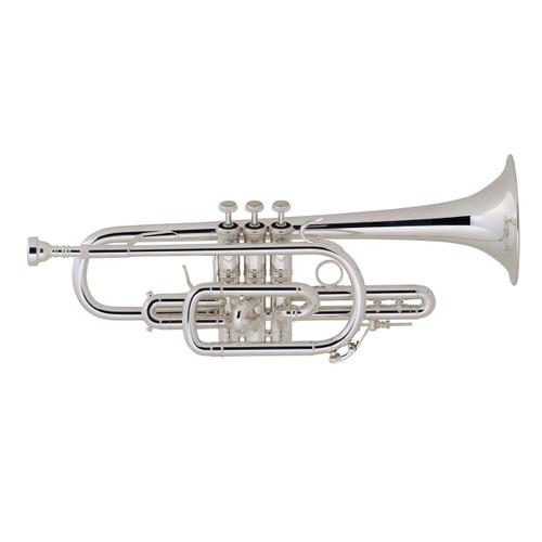 Bach Professional Model 181SML Cornet, Silver Plated