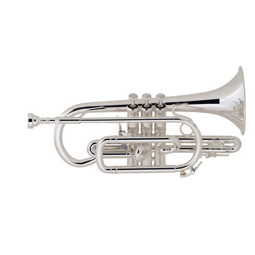 Bach Professional Model 184SML Cornet, Silver Plated