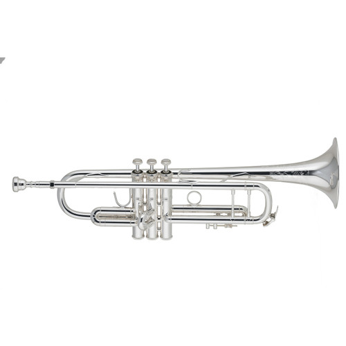 Bach Stradivarius Series 50th Anniversary Bb Trumpet, Silver Plated