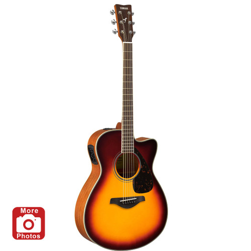 Yamaha FSX820CBS Acoustic-Electric Guitar; Brown Sunburst