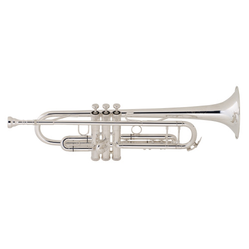 King Step-Up Model 2055S Bb Trumpet, Silver Plated