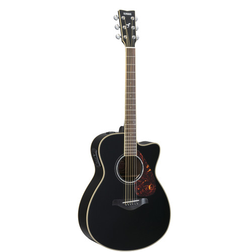 Yamaha FSX730SCBL Acoustic-Electric Guitar; Black
