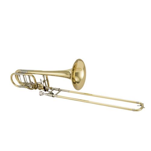 Bach Professional Model 50AF3 Bass Trombone Infinity Valve Open Wrap
