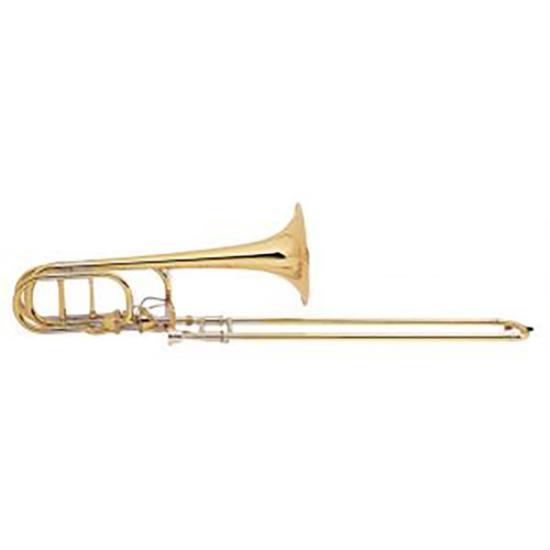 Bach Professional Model 50AF3L Bass Trombone Large Bell Infinity Valve Open Wrap