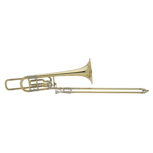 Bach Professional Model 50B2O Bass Trombone, Open Wrap