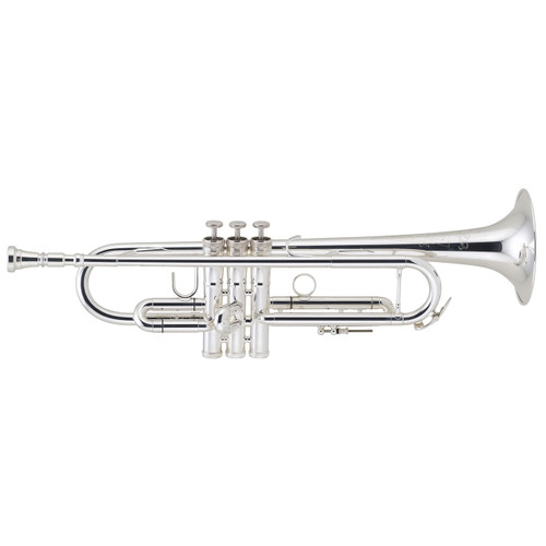 C.G. Conn Step-Up Model 52BSP Bb Trumpet, Silver Plated