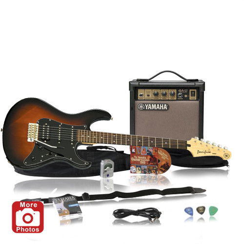 Yamaha GIGMAKEREG-OVS Electric Guitar Package; Old Violin Sunburst