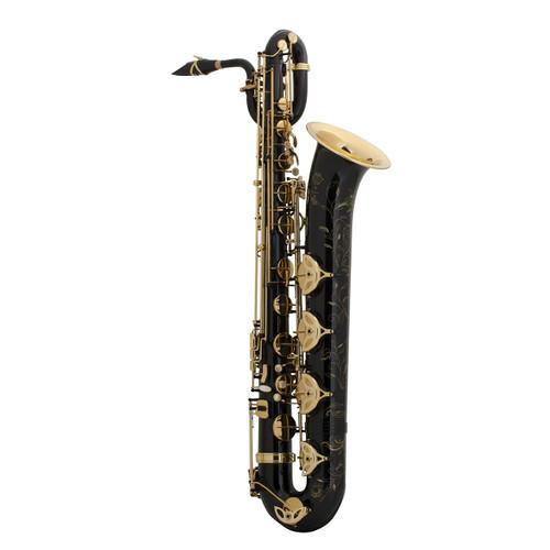 Selmer Paris Professional Model 55AFJBL Bari Saxophone, Black Lacquer