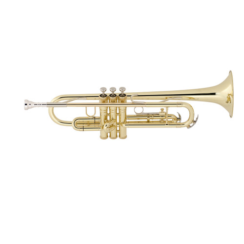 King Student Model 601W Bb Trumpet, Wood Shell Case