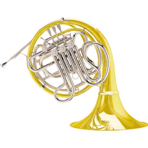 C.G. Conn Professional Model 8DYS Double French Horn Yellow Brass Bell