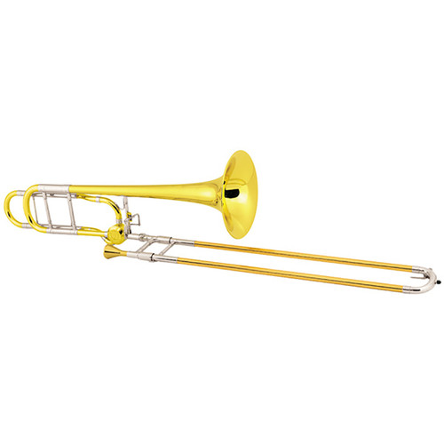 C.G. Conn Professional Model 88HYCL Tenor Trombone, Yellow Brass Bell