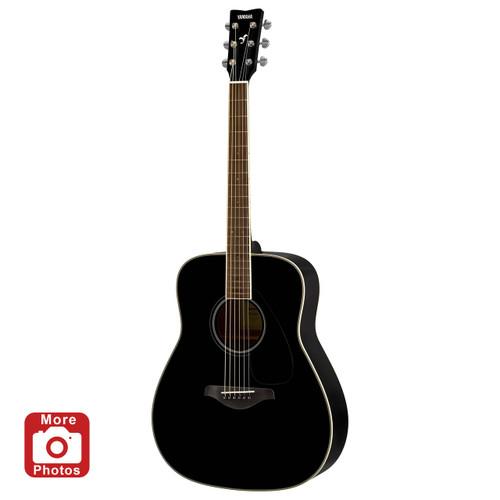 Yamaha FS820BL Acoustic Guitar; Black