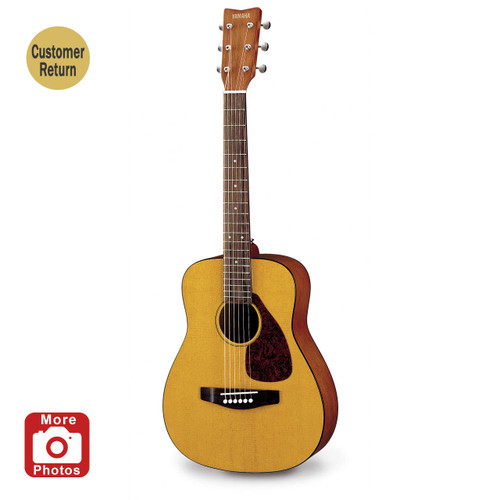 Yamaha JR1 3/4 Size Acoustic Guitar with Gig Bag Customer Return