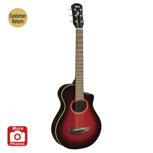 Yamaha APXT2DRB Acoustic-Electric Guitar Dark Red Burst 3/4 Size Customer Return