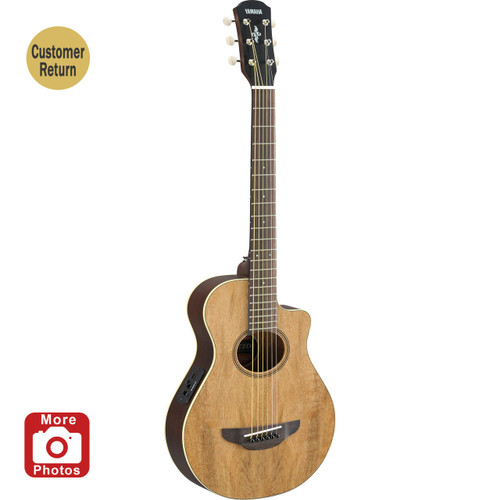 Yamaha APXT2EWNA Acoustic-Electric Guitar; Exotic Wood; 3/4 Size Customer Return