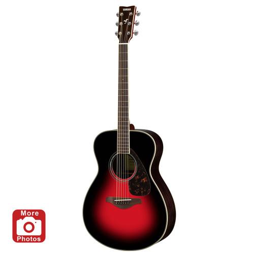 Yamaha FS830DSR Acoustic Guitar; Dusk Sun Red