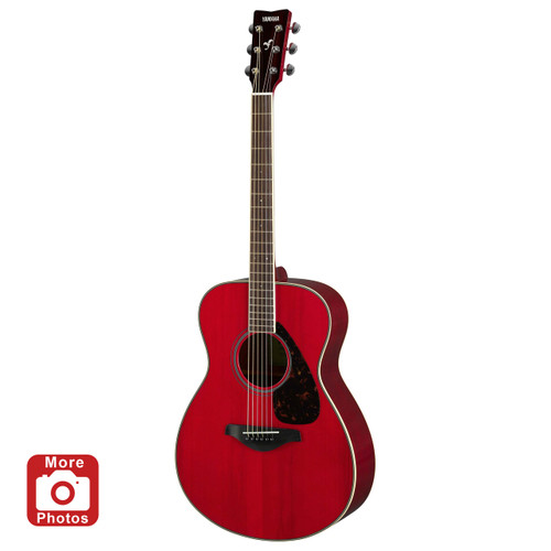 Yamaha FS820RR Acoustic Guitar; Ruby Red