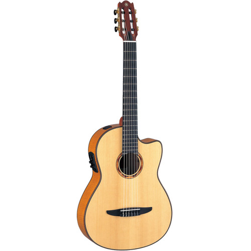 Yamaha NCX2000FM Acoustic-Electric Classical Guitar with Case